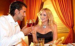 Романтический ужин вдвоем