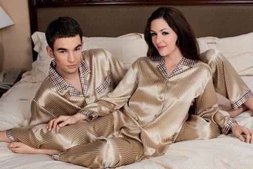Атласные пижамы