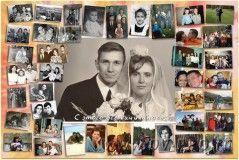 Коллаж из семейных фотографий