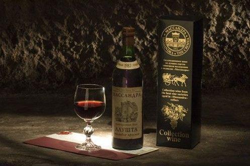 коллекционное красное вино