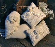 полотняные подушки на подарок