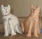 полотняные коты на подарок