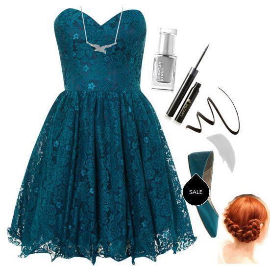 ažur haljina