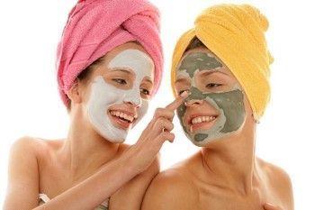 Maska za obraz v kopeli: recepti