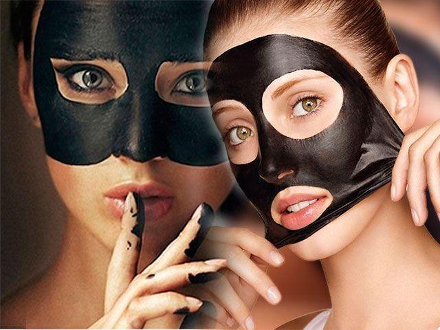 Černá maska černá maska černých teček