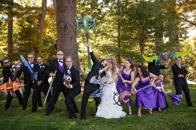 Что собой представляет Американский стиль свадьбы?-2