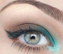 Dnevna šminka za plave oči