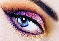 Dan make-up za tamno-plave oči