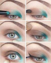 Korak po korak vodič: kako to učiniti make-up za svjetlo-plave oči