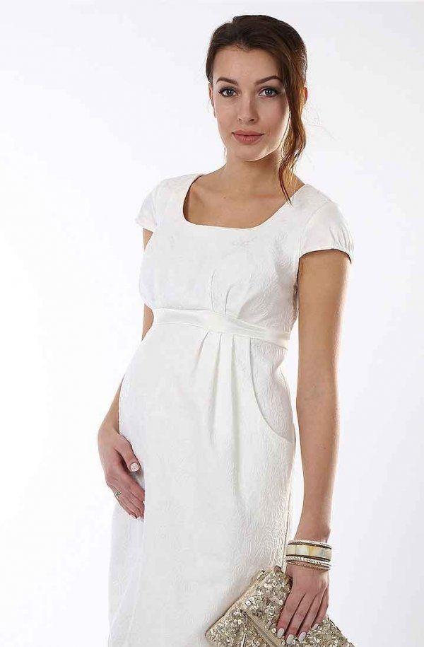 Jednostavan i koncizan bijeloj haljini se može dopuniti sa svijetlim pribor
