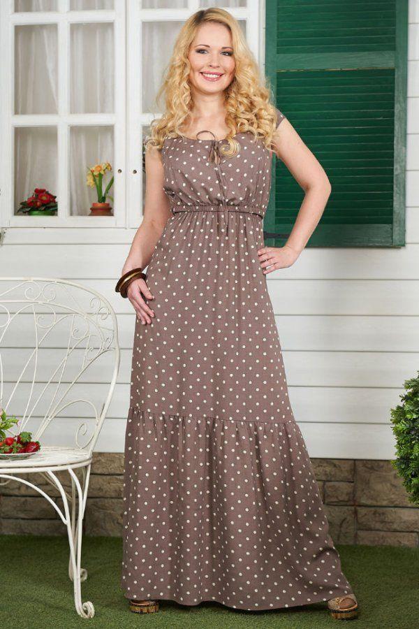 Foto ljetna haljina polka dot vezice