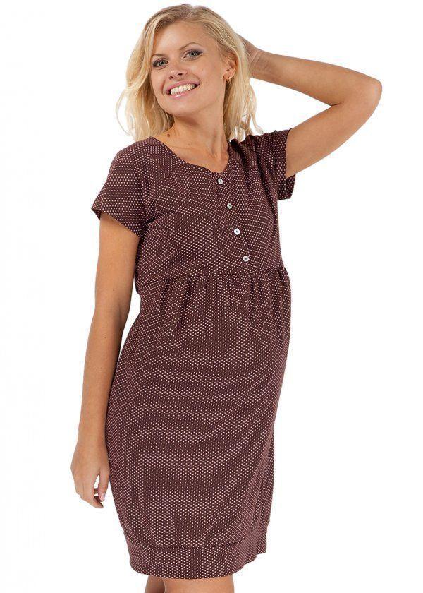 Foto jednostavan i elegantan haljinu u fini grašak