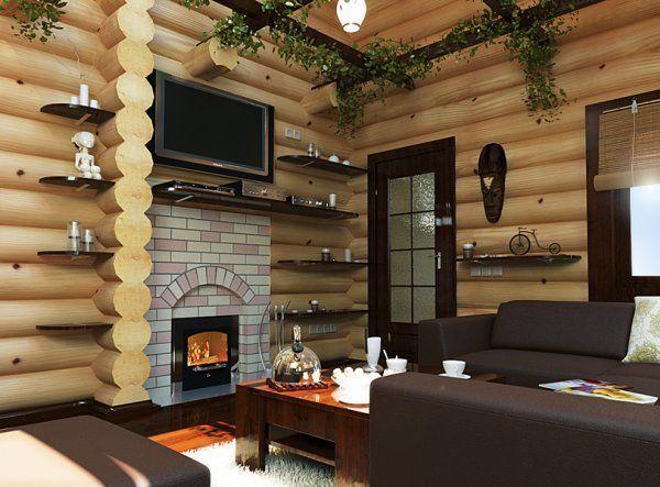 Tople barve, udobno pohištvo, pravilna postavitev - vse ustvarjene za kakovostno sprostitev