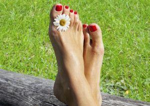 избавление от ногтевого грибка на ногах