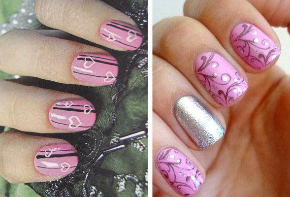 pink manikir kratkim noktima