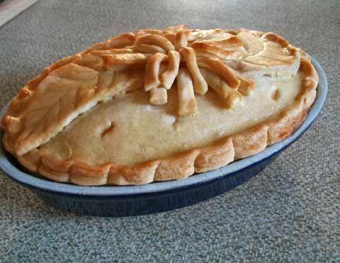 Изумительный пирог из песочного теста