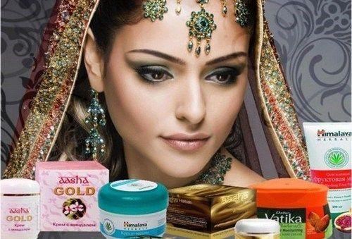 Индийская косметика для лица