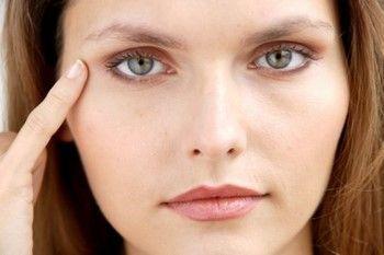 Эффект масок от мешков под глазами