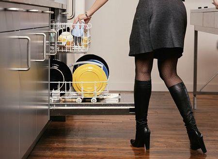Как мыть посуду в посудомоечной машине