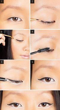 Как карандашом увеличить глаза