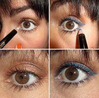 Как красить выпуклые глаза карандашом