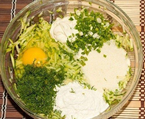 Тесто для кабачковых оладий