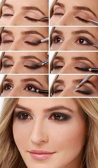 Красивый макияж смоки-айс (Smoky eyes)