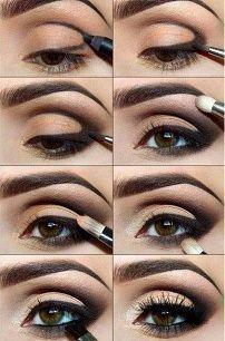 Идеи для макияжа смоки-айс