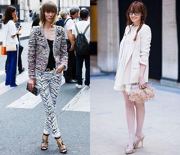 Белые и черные цвета в уличной моде