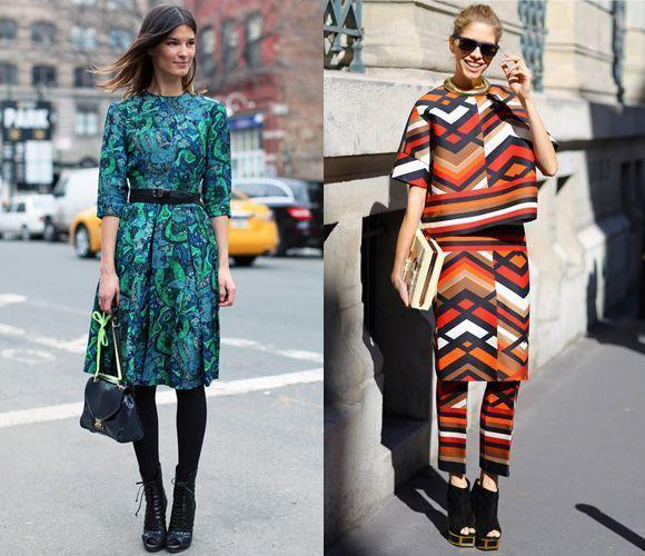 Принты в уличной одежде