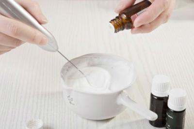 Эфирные масла в креме