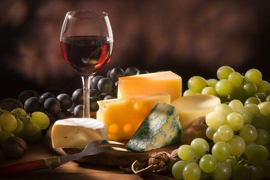 Какое вино подходит к сыру?