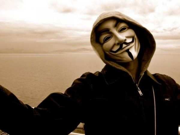 Крутой Анонимус на закате