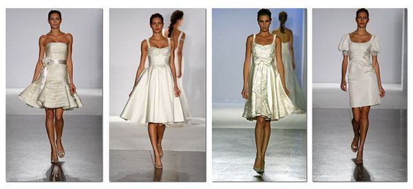 Kratka wedding dress - 200 prekrasnim modela