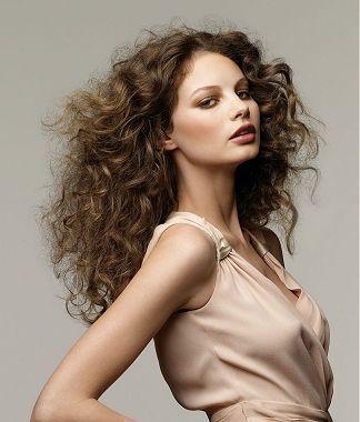 Кудрявые волосы - это красиво!