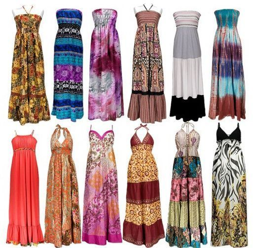 Ljeto duga haljina