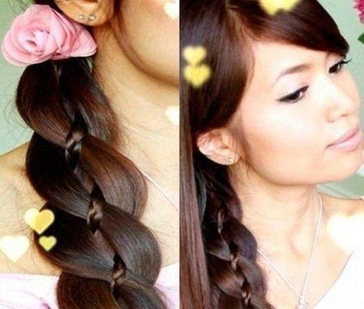 прическа на лето - коса