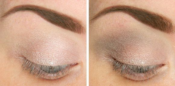 plavo oko make-up, korak po korak