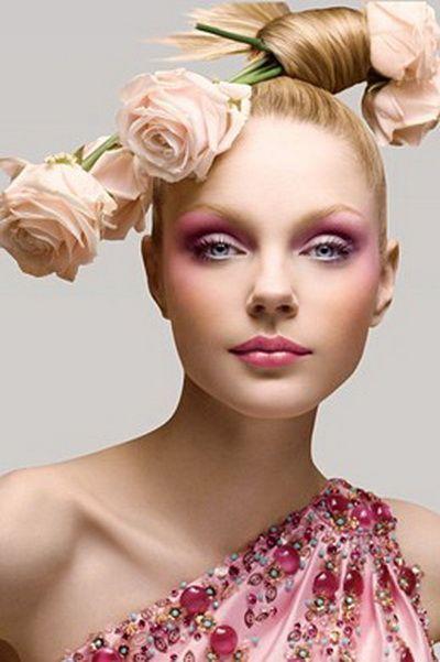 Макияж для голубых глаз - 150 красивых вариантов