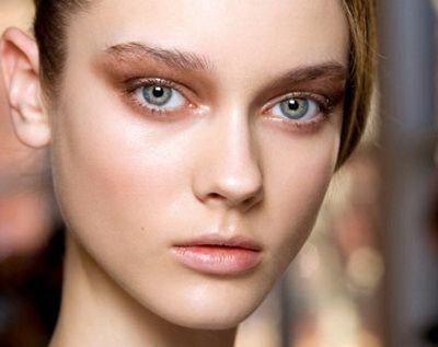 pravila šminka za plave oči