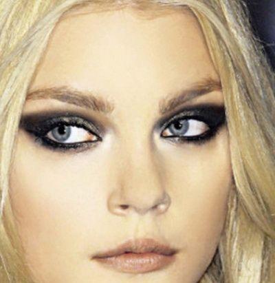 Šminka Smokey Eyes za plave oči