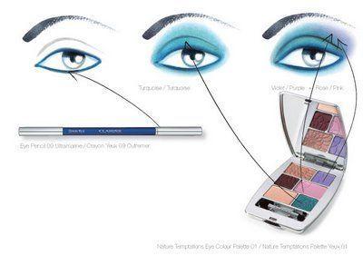Nijanse šminke za plave oči