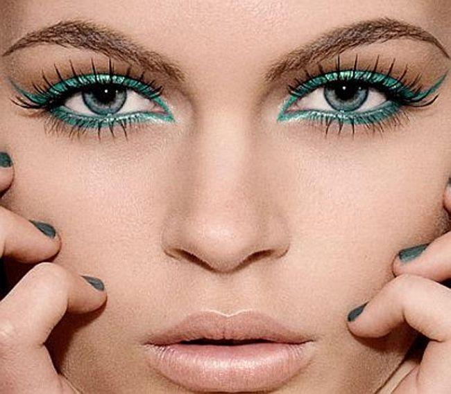 Šminka za sirene plavo-sive oči