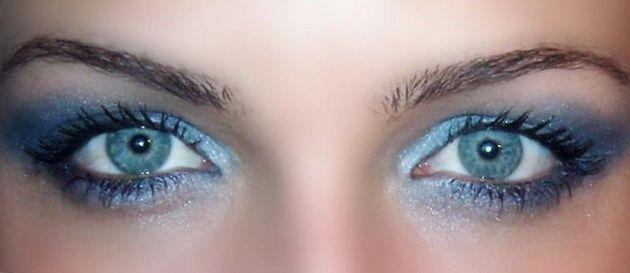 plavi senke za plavo-sive oči