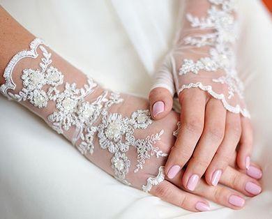 Vjenčanje manikir šelak fotografija