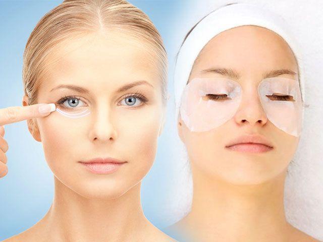 Маска для кожи вокруг глаз от морщин в домашних условиях