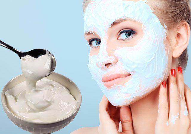 Obličejová maska zakysané smetany z vrásek doma