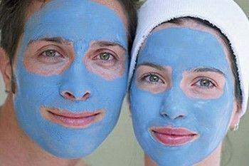 Голубая глина: маска для лица в домашних условиях