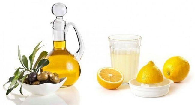 Масло оливы и лимон для укрепления ногтей