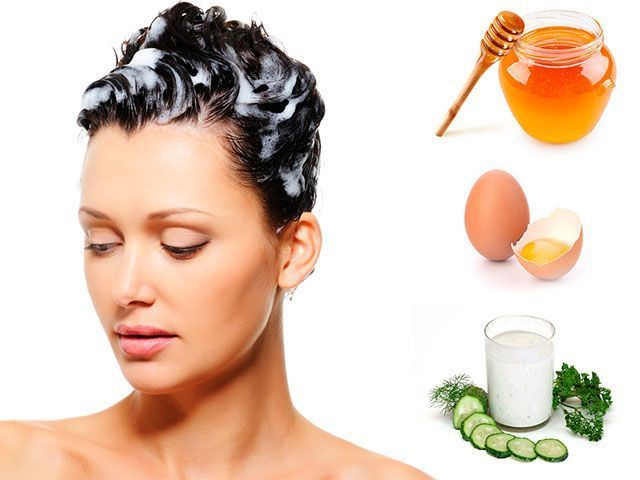 Masky pro vlasy doma -masks k posílení a růst vlasů